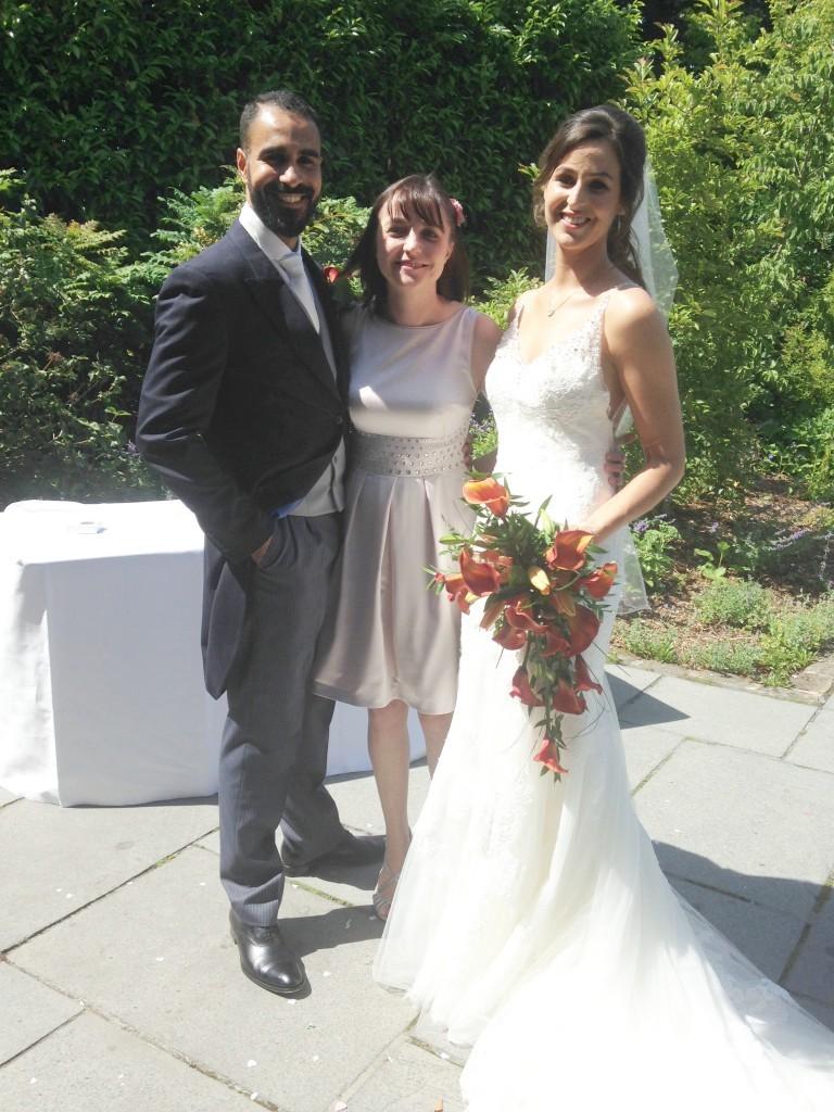 Liz Hendry wedding pianist clients at Rivington Barn