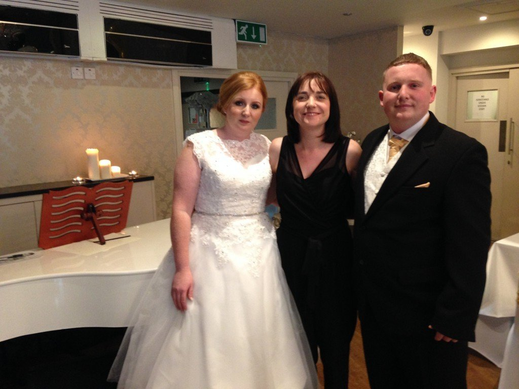 Mr and Mrs Lefley leave a lovely testimonial for Liz Hendry after their Manchester wedding