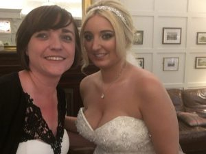 Here is Liz Hendry Wedding Pianist with Mrs Eastham at the multi award winning ashfield house
