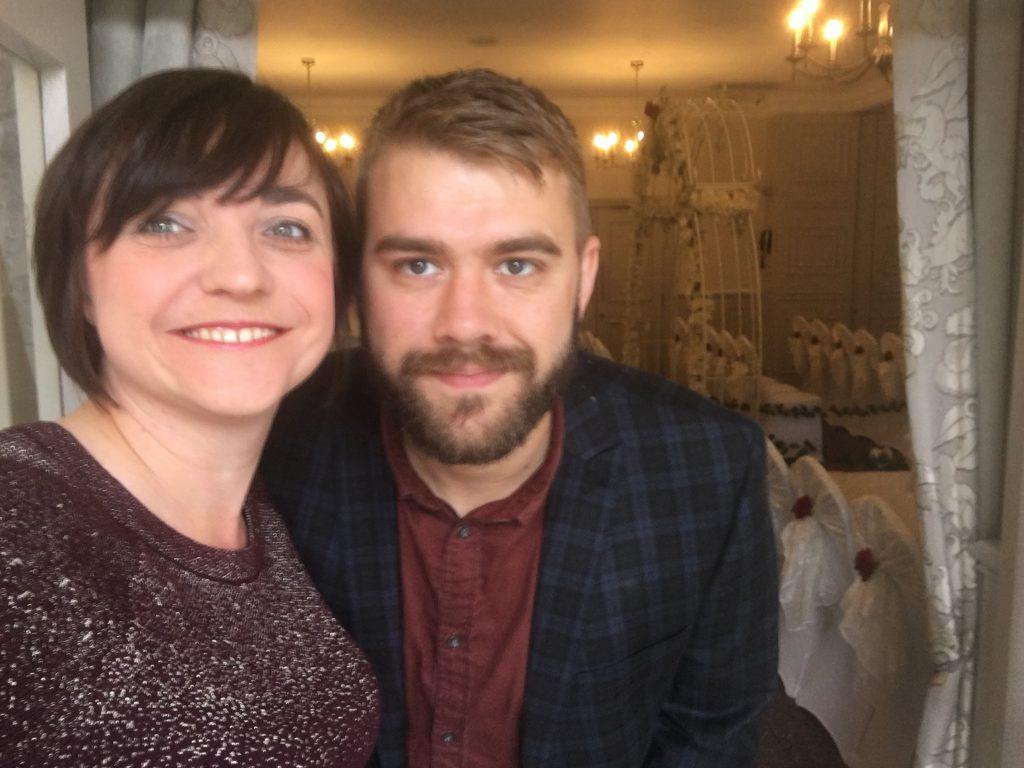 Liz Hendry with Stefan from YSD Media