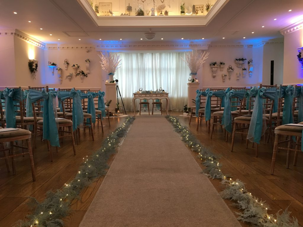 Ceremony room vow renewal